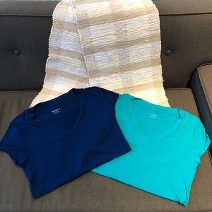 Merona t-shirt bundle (2) L